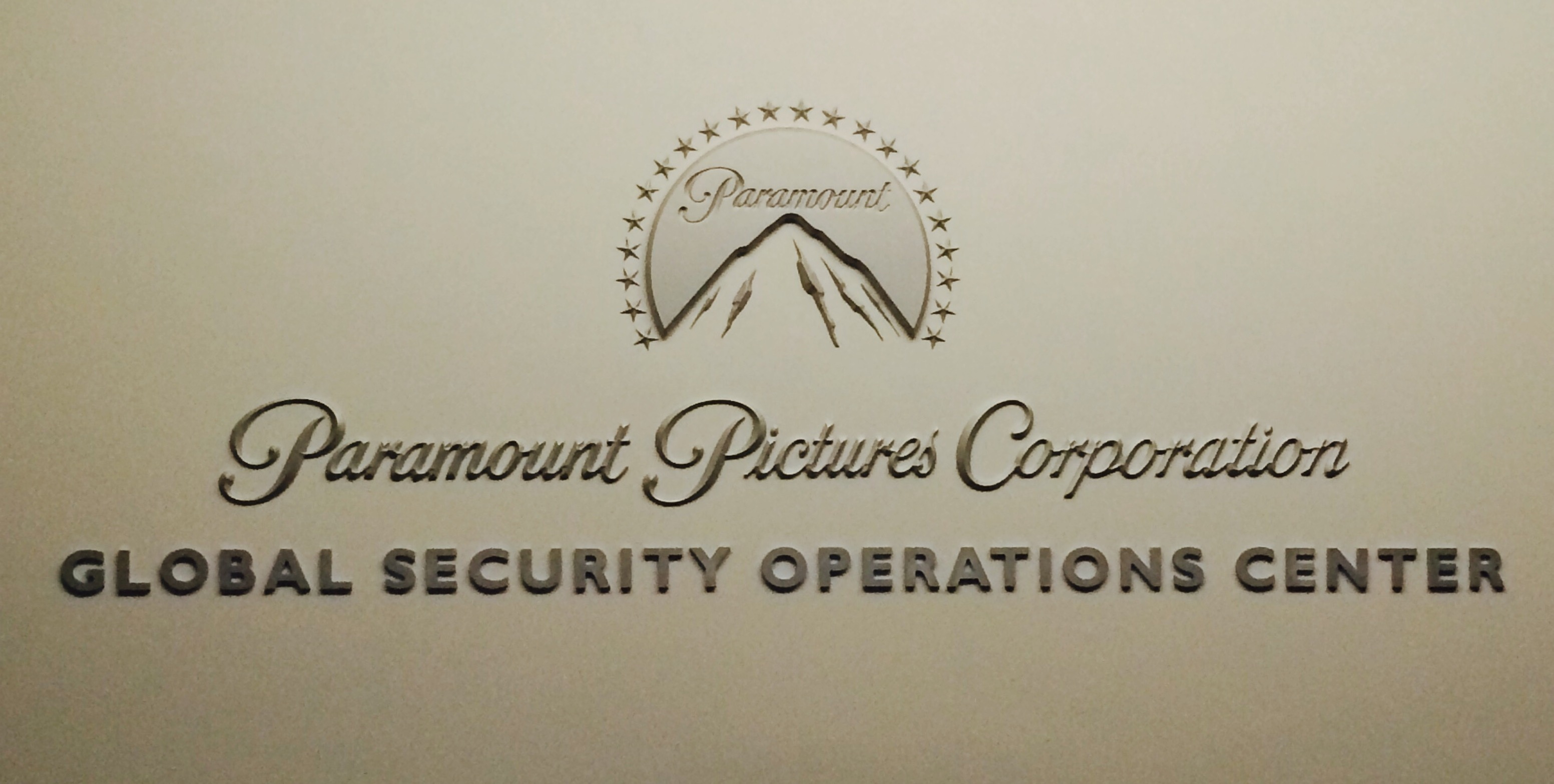 Paramount Pictures Global Security Operations Center